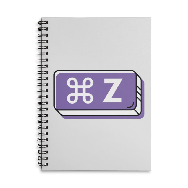 CMD Z Accessories Notebook by Example Artist Shop
