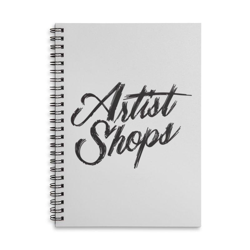 Artist Shops Logo Accessories Notebook by Example Artist Shop