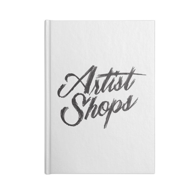 Artist Shops Logo Accessories Notebook by Example Artist Shop