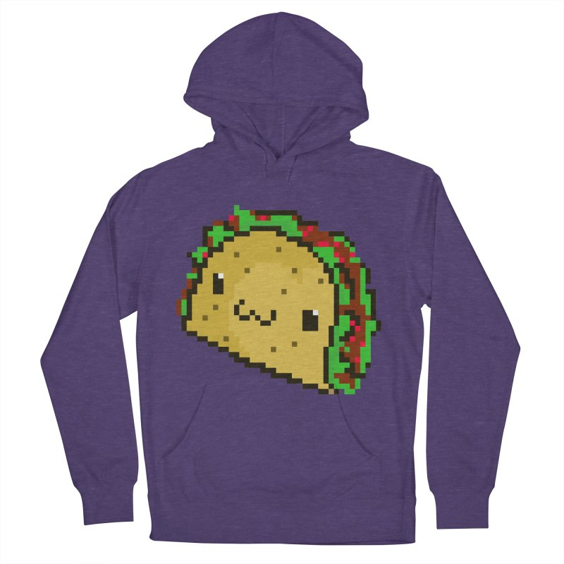 Pixel Taco Women's Pullover Hoody by exeivier's Artist Shop