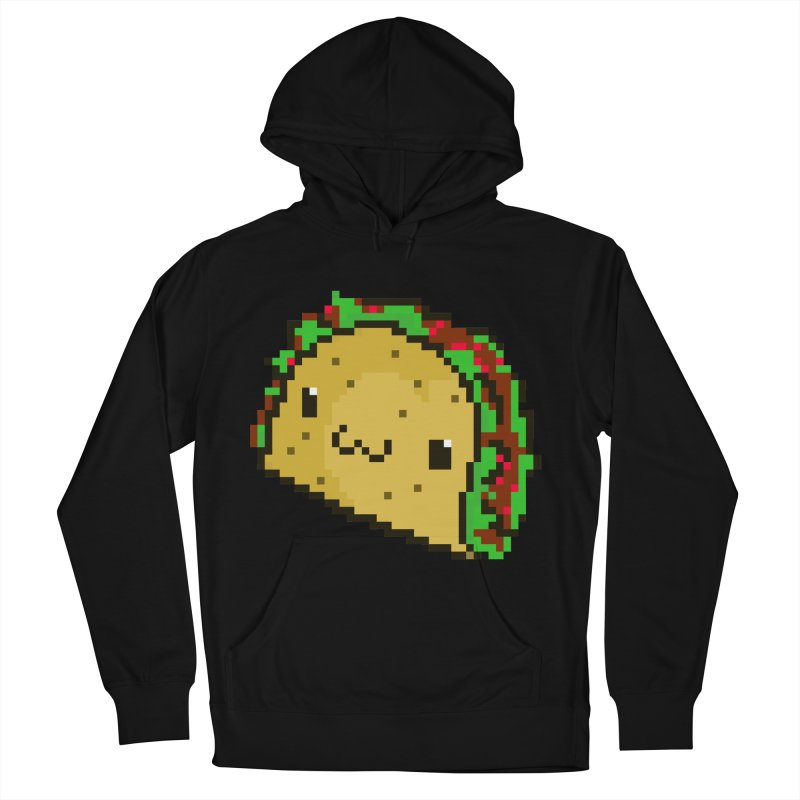Pixel Taco Women's French Terry Pullover Hoody by exeivier's Artist Shop