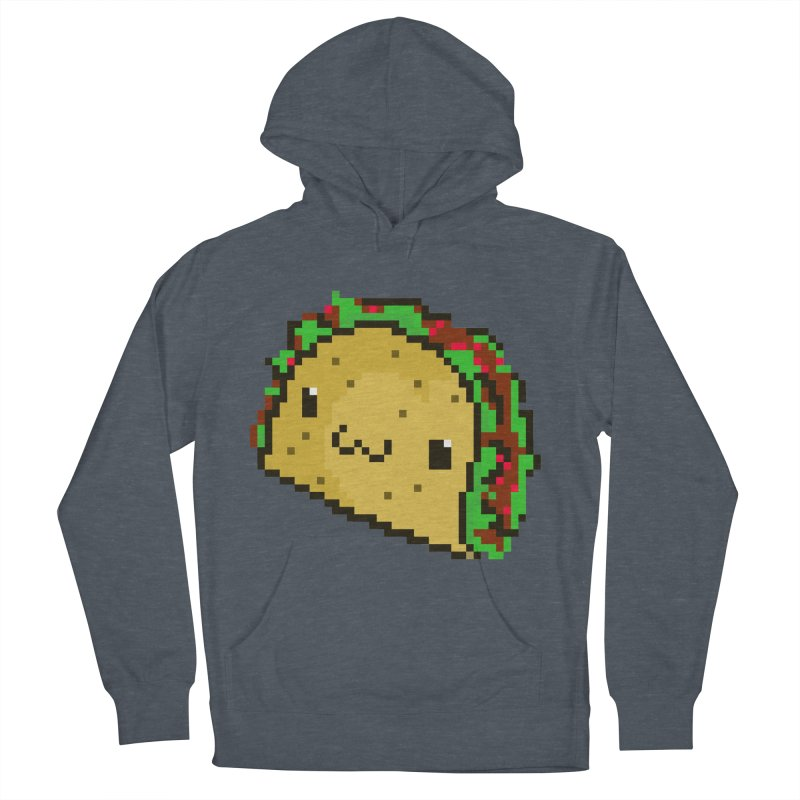 Pixel Taco Men's French Terry Pullover Hoody by exeivier's Artist Shop