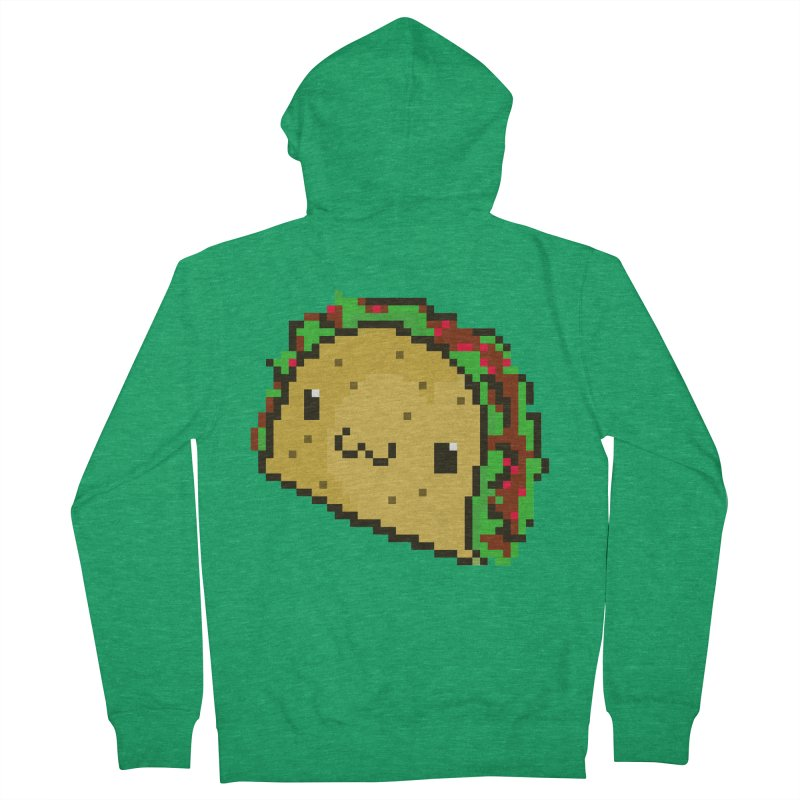 Pixel Taco Women's Zip-Up Hoody by exeivier's Artist Shop