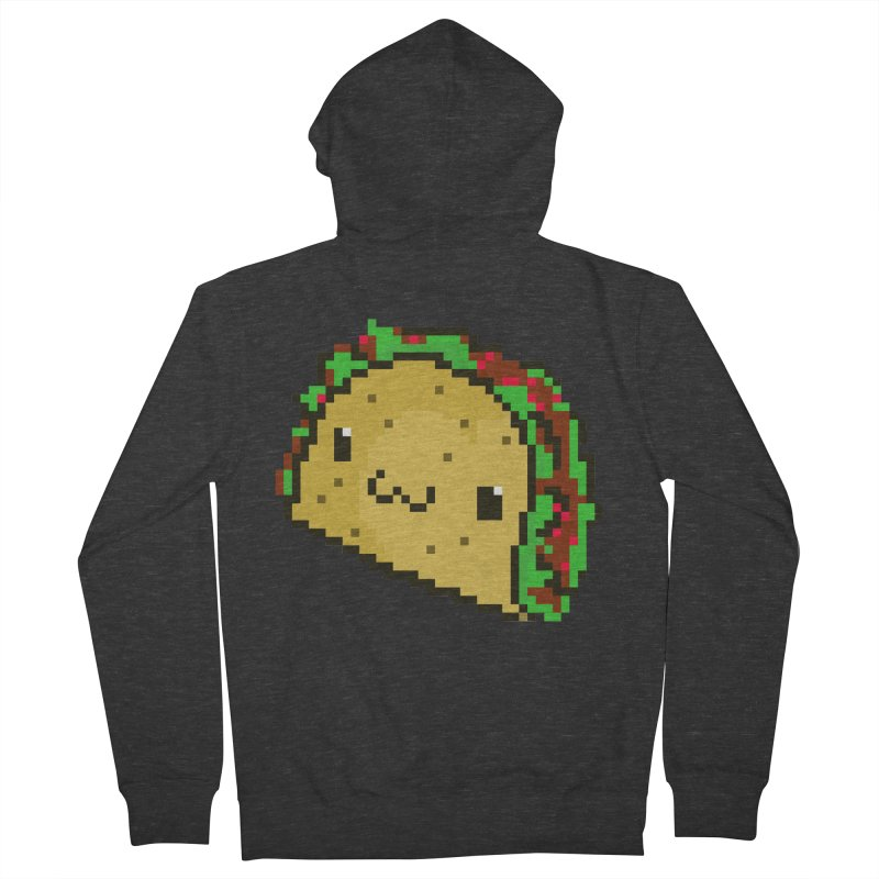 Pixel Taco Men's Zip-Up Hoody by exeivier's Artist Shop