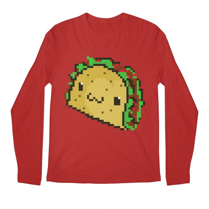 Pixel Taco Men's Longsleeve T-Shirt by exeivier's Artist Shop