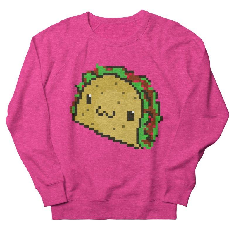 Pixel Taco Women's Sweatshirt by exeivier's Artist Shop