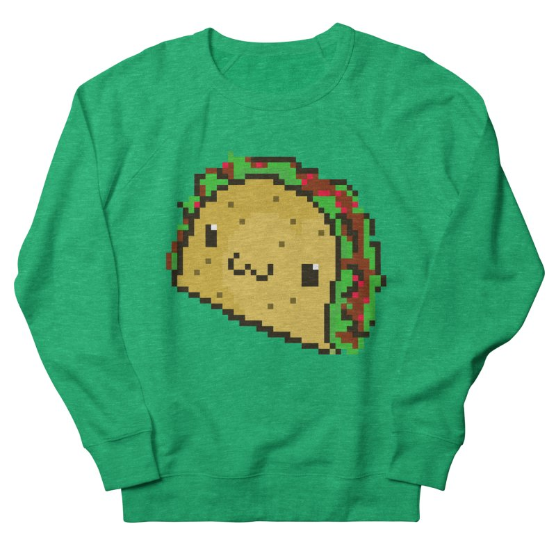 Pixel Taco Men's Sweatshirt by exeivier's Artist Shop