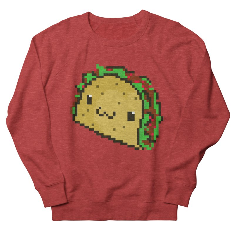 Pixel Taco Men's French Terry Sweatshirt by exeivier's Artist Shop