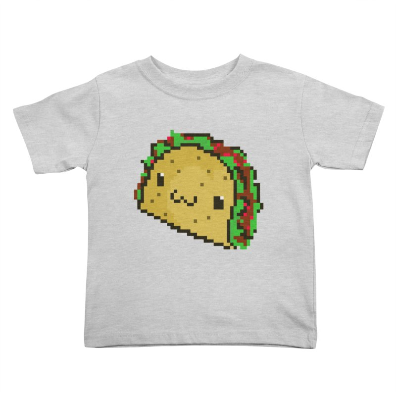 Pixel Taco Kids Toddler T-Shirt by exeivier's Artist Shop