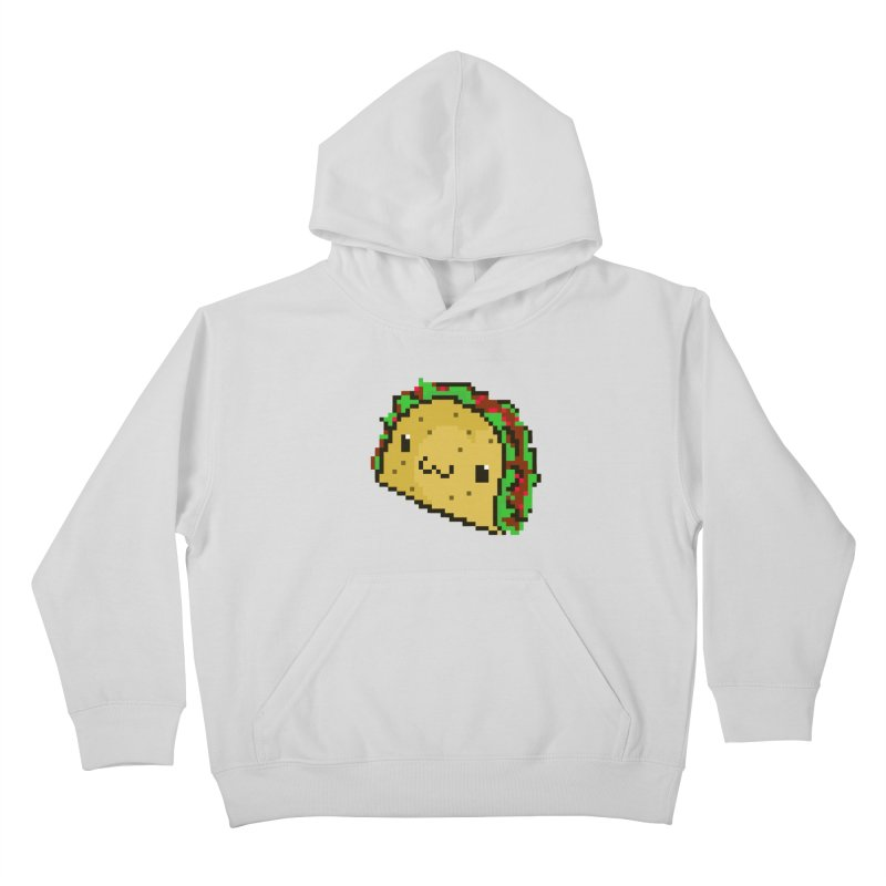 Pixel Taco Kids Pullover Hoody by exeivier's Artist Shop