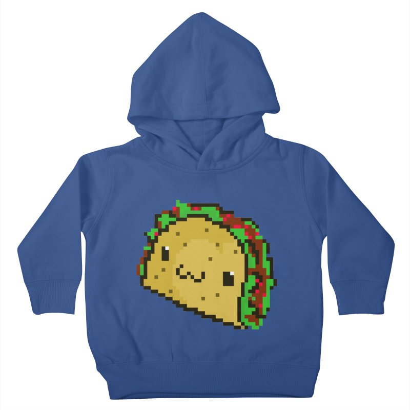 Pixel Taco Kids Toddler Pullover Hoody by exeivier's Artist Shop