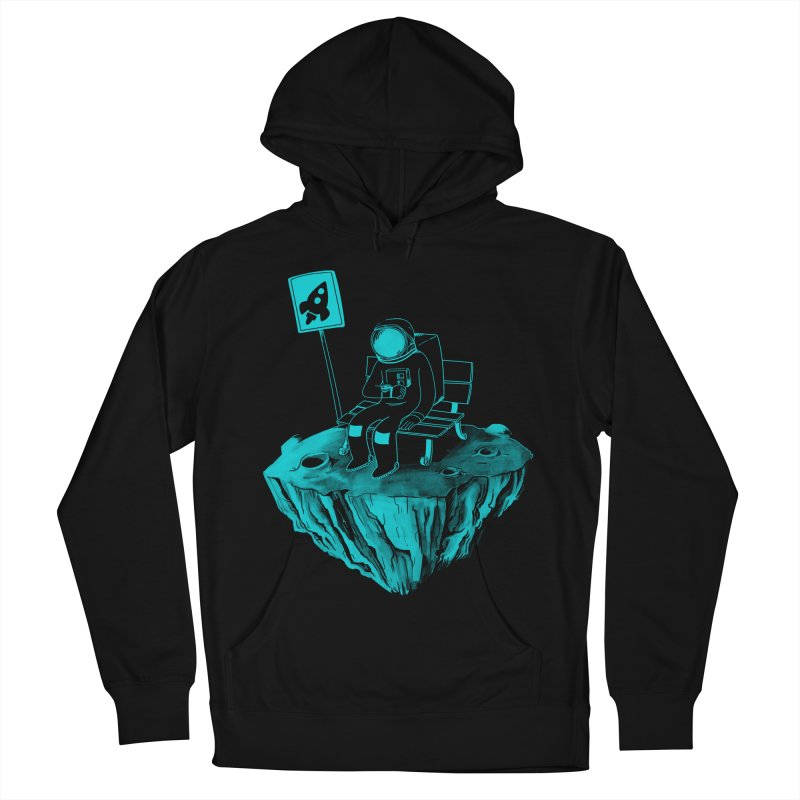 Waiting for my Rocket Bus Women's French Terry Pullover Hoody by exeivier's Artist Shop