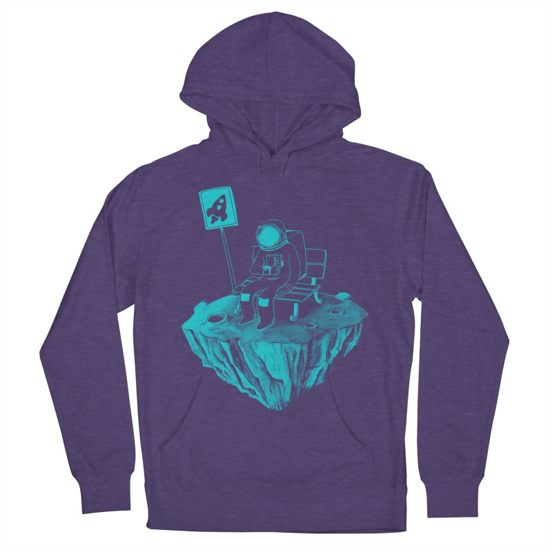 Waiting for my Rocket Bus Men's Pullover Hoody by exeivier's Artist Shop