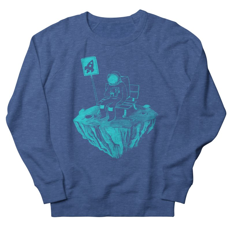 Waiting for my Rocket Bus Women's Sweatshirt by exeivier's Artist Shop