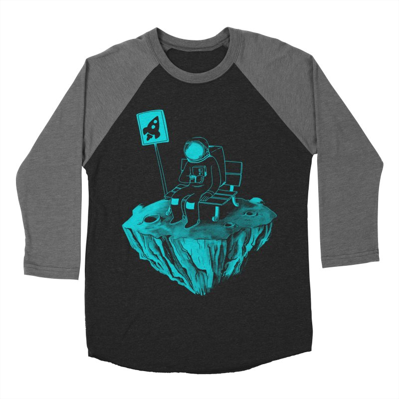 Waiting for my Rocket Bus Men's Baseball Triblend T-Shirt by exeivier's Artist Shop