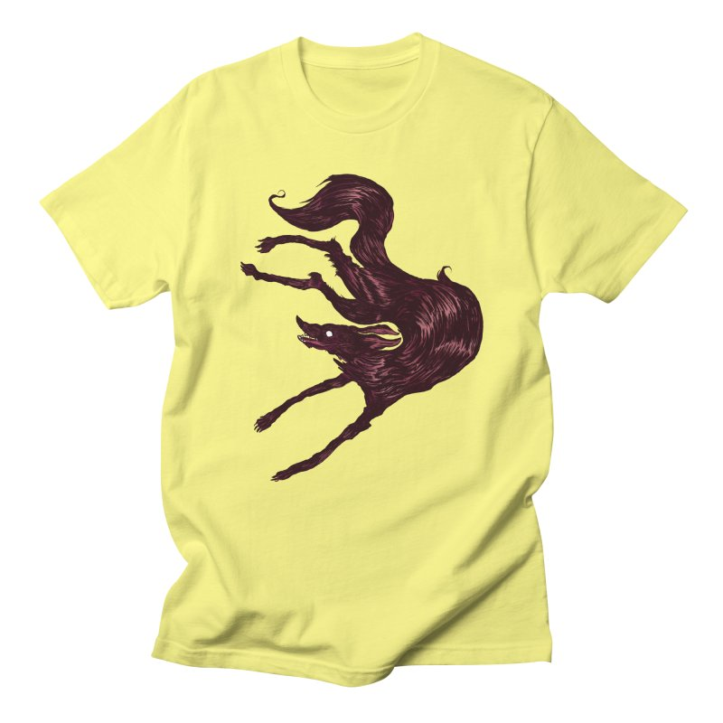 Silly Hound  Men's Regular T-Shirt by exeivier's Artist Shop