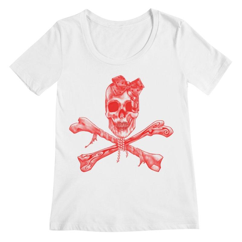The Lovely Bones Women's Scoopneck by exiledesigns's Artist Shop