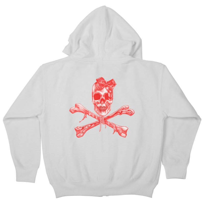 The Lovely Bones Kids Zip-Up Hoody by exiledesigns's Artist Shop