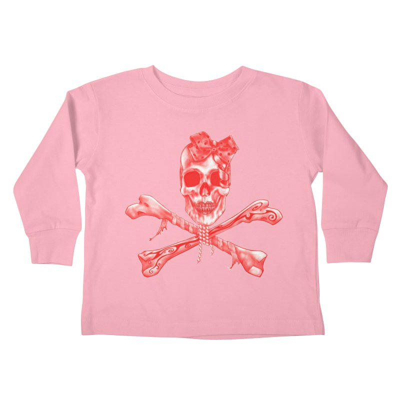 The Lovely Bones Kids Toddler Longsleeve T-Shirt by exiledesigns's Artist Shop