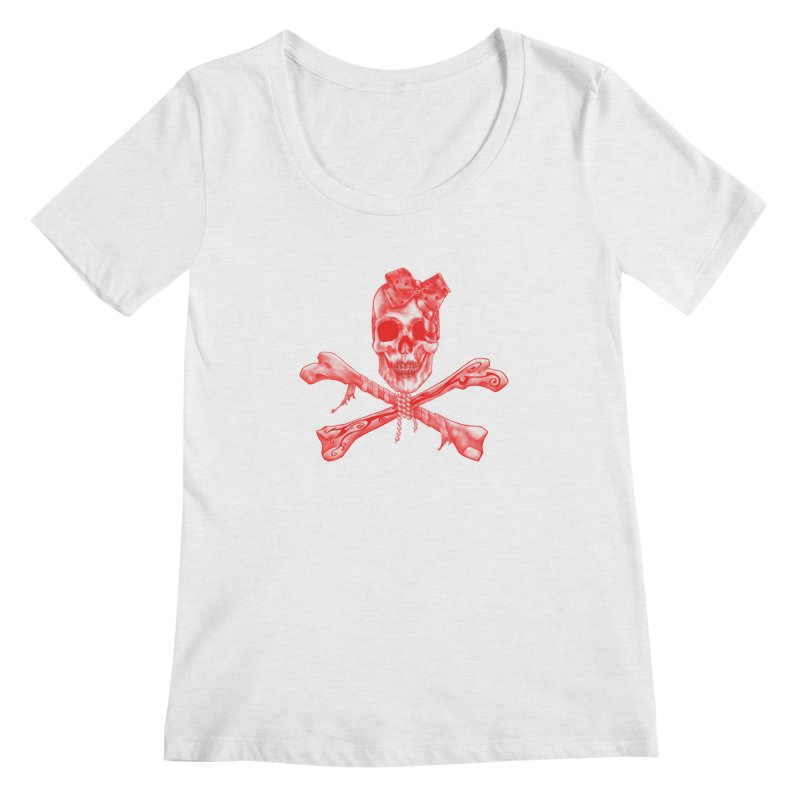 The Lovely Bones Women's Scoopneck by exiledesigns's Artist Shop