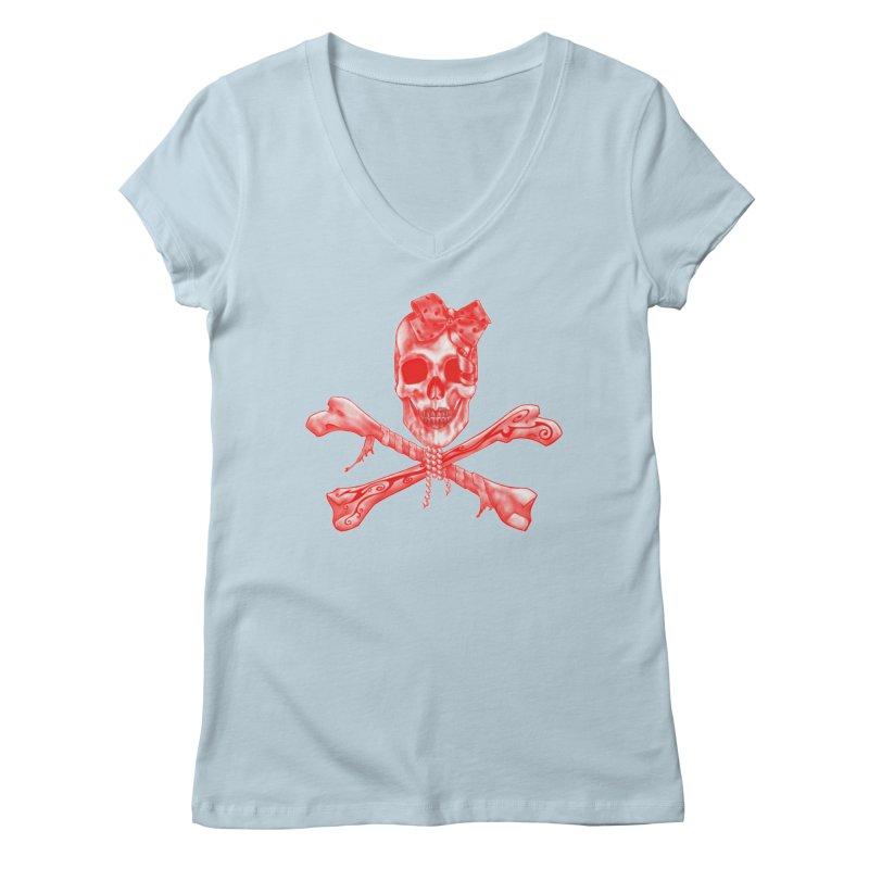 The Lovely Bones Women's V-Neck by exiledesigns's Artist Shop