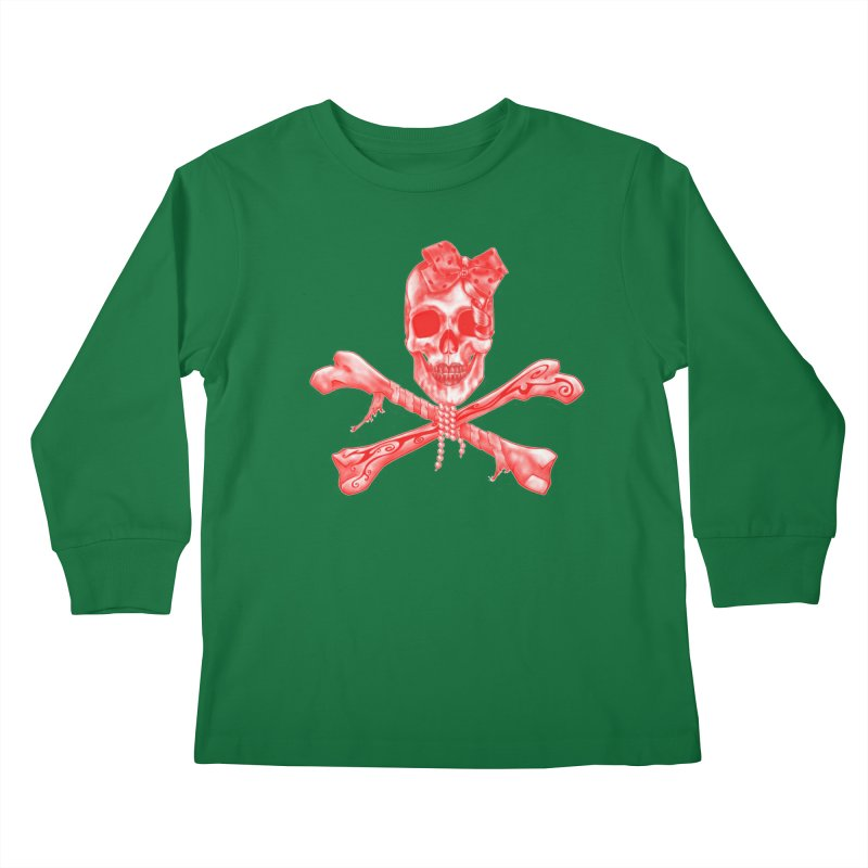 The Lovely Bones Kids Longsleeve T-Shirt by exiledesigns's Artist Shop