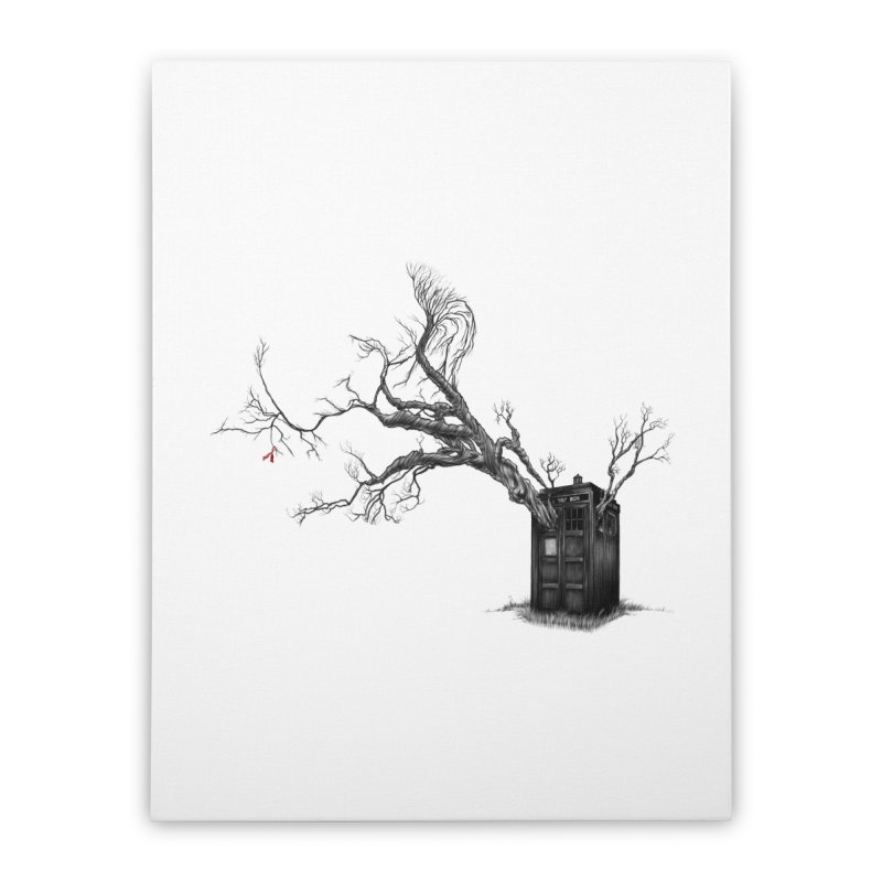 Stories in the End Home Stretched Canvas by exiledesigns's Artist Shop