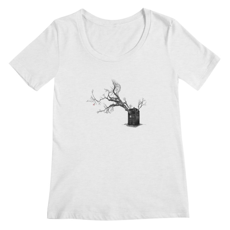 Stories in the End Women's Scoopneck by exiledesigns's Artist Shop