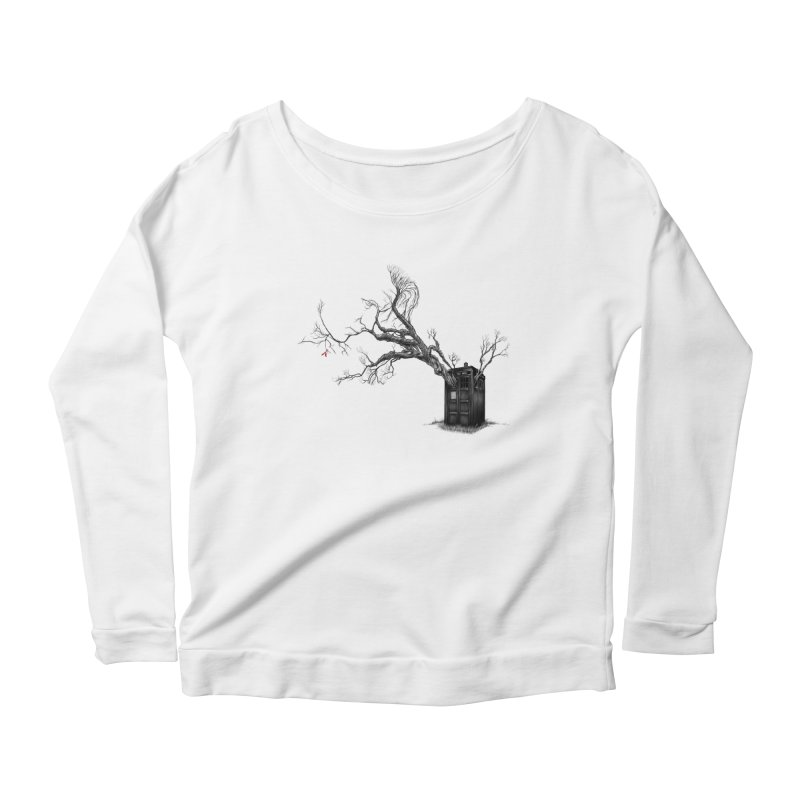 Stories in the End Women's Longsleeve Scoopneck  by exiledesigns's Artist Shop