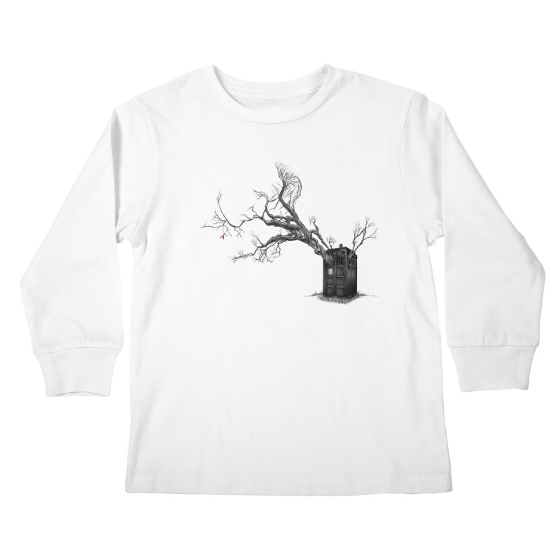 Stories in the End Kids Longsleeve T-Shirt by exiledesigns's Artist Shop