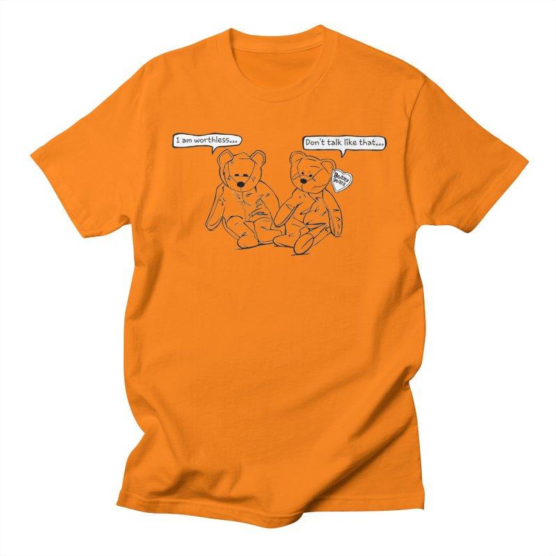 Worthless Beans Men's T-shirt by exiledesigns's Artist Shop