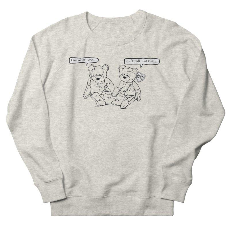 Worthless Beans Men's Sweatshirt by exiledesigns's Artist Shop