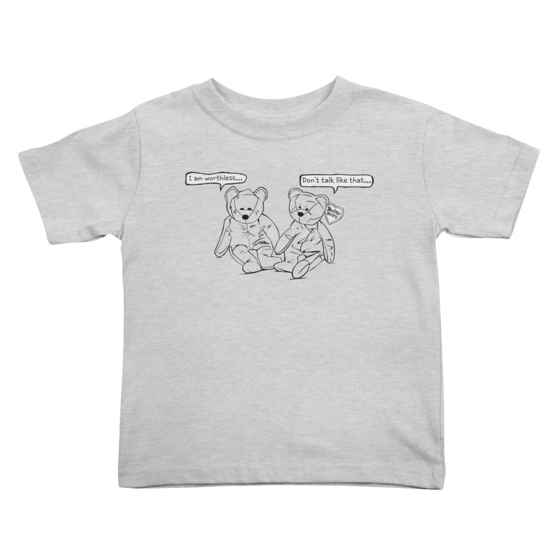 Worthless Beans Kids Toddler T-Shirt by exiledesigns's Artist Shop