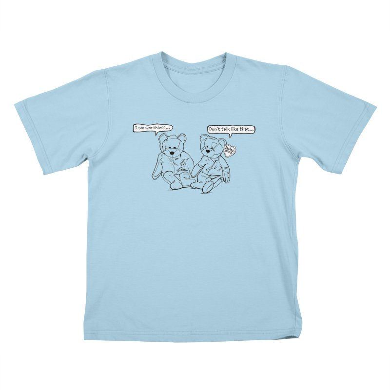 Worthless Beans Kids T-shirt by exiledesigns's Artist Shop
