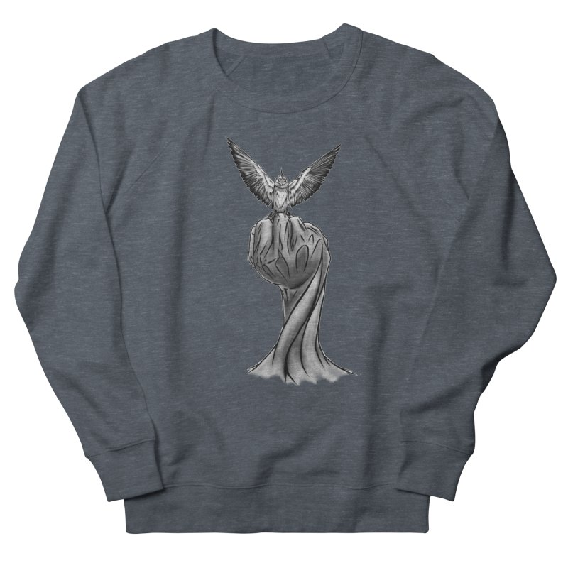 The Bird Men's Sweatshirt by exiledesigns's Artist Shop