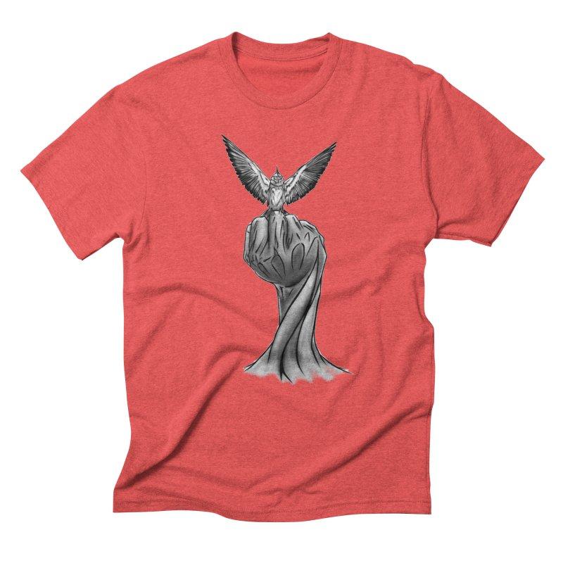 The Bird Men's Triblend T-Shirt by exiledesigns's Artist Shop