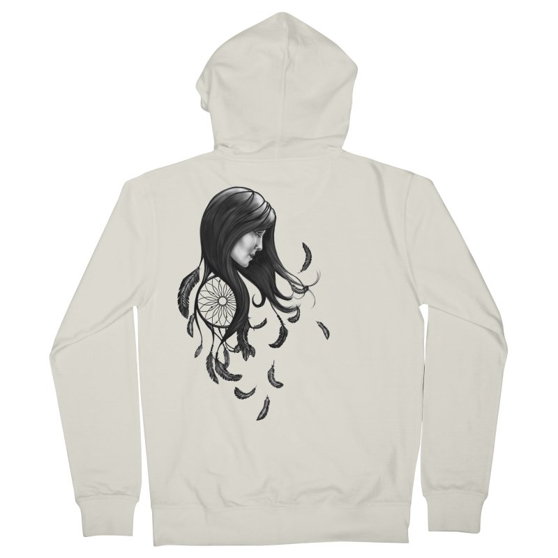 Dream Weaver Women's Zip-Up Hoody by exiledesigns's Artist Shop