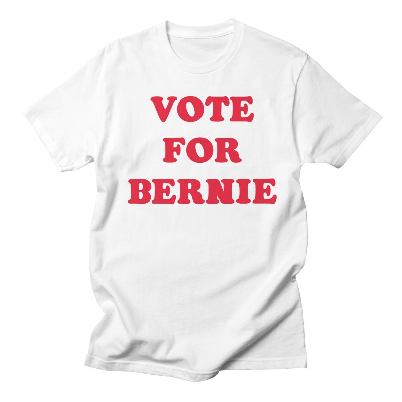 Feel The Bern! Men's T-Shirt by exiledesigns's Artist Shop