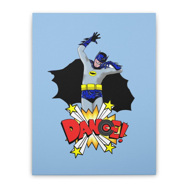 Bat-Dance! Home Stretched Canvas by exiledesigns's Artist Shop