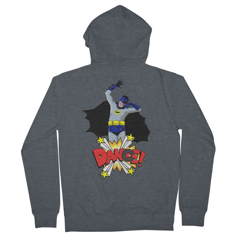 Bat-Dance! Men's French Terry Zip-Up Hoody by exiledesigns's Artist Shop