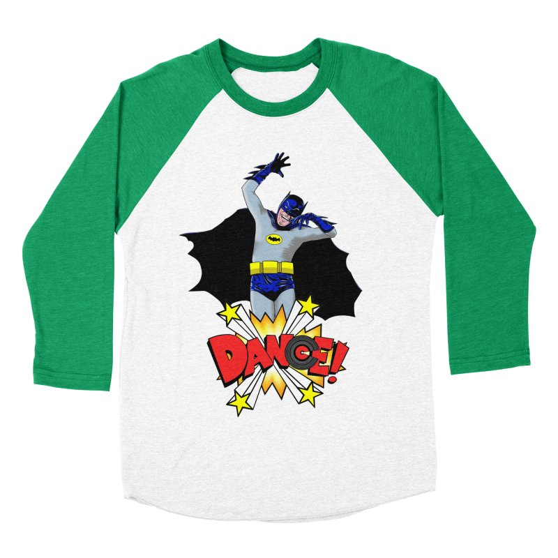 Bat-Dance! Women's Baseball Triblend T-Shirt by exiledesigns's Artist Shop