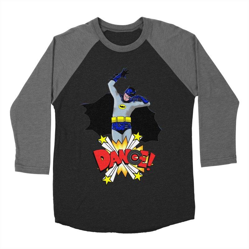 Bat-Dance! Women's Baseball Triblend T-Shirt by exiledesigns's Artist Shop
