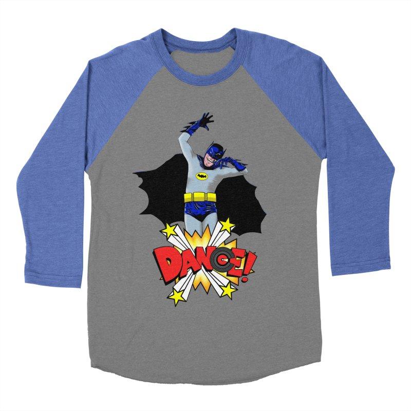 Bat-Dance! Men's Baseball Triblend T-Shirt by exiledesigns's Artist Shop