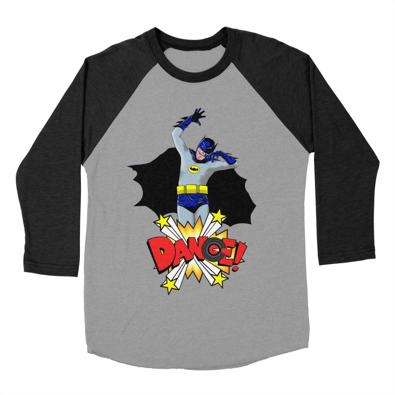 Bat-Dance! Men's Baseball Triblend T-Shirt by exiledesigns's Artist Shop