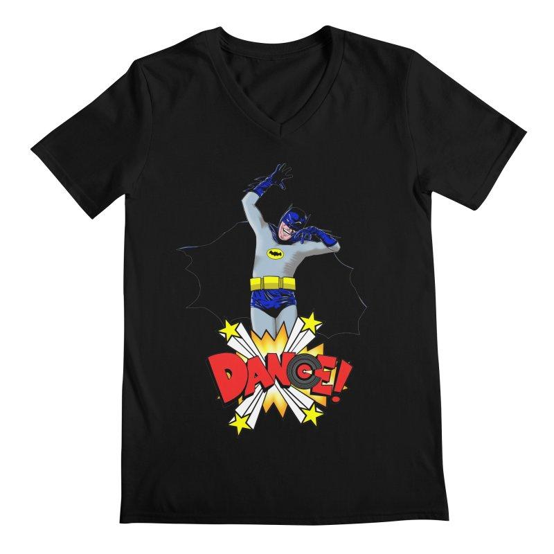 Bat-Dance! Men's V-Neck by exiledesigns's Artist Shop