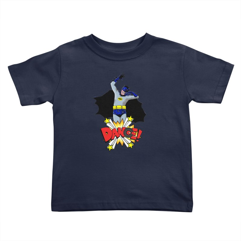 Bat-Dance! Kids Toddler T-Shirt by exiledesigns's Artist Shop