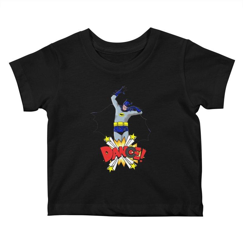 Bat-Dance! Kids Baby T-Shirt by exiledesigns's Artist Shop