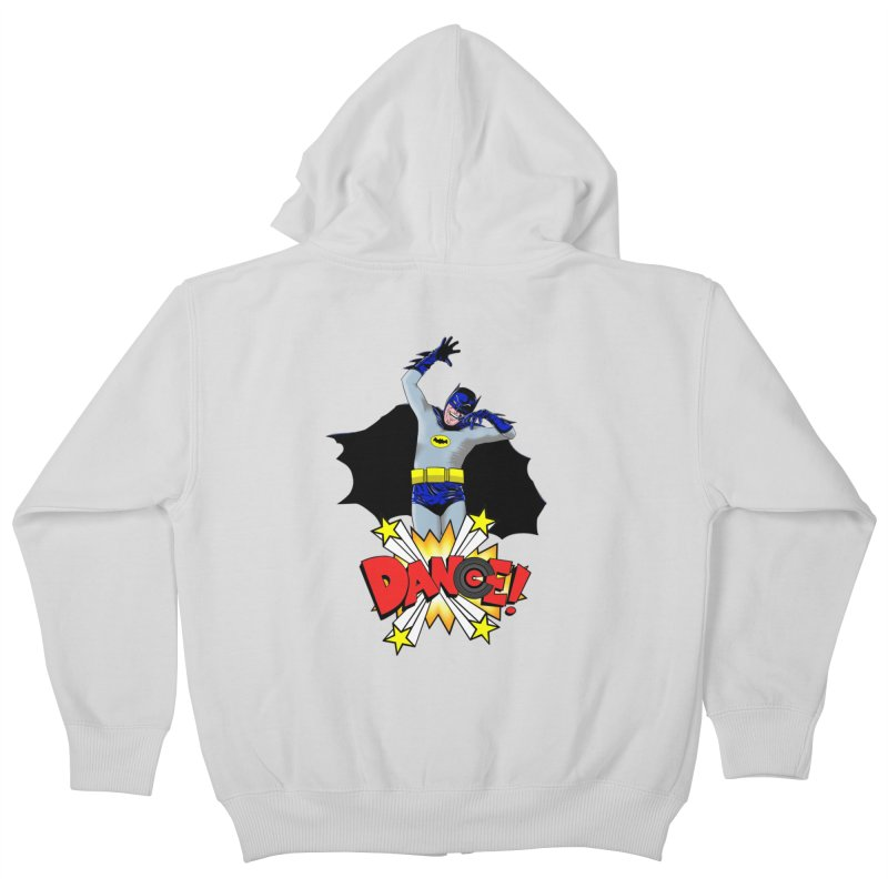 Bat-Dance! Kids Zip-Up Hoody by exiledesigns's Artist Shop