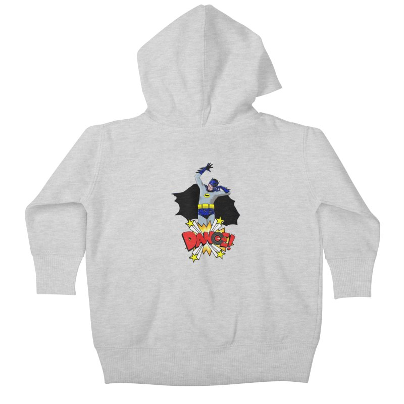 Bat-Dance! Kids Baby Zip-Up Hoody by exiledesigns's Artist Shop