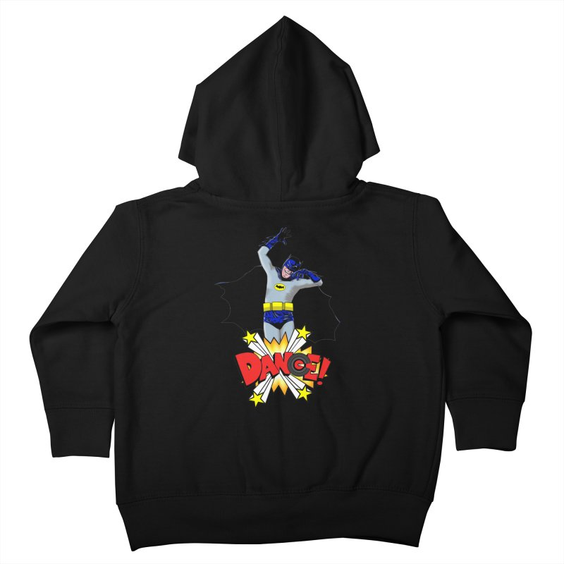 Bat-Dance! Kids Toddler Zip-Up Hoody by exiledesigns's Artist Shop